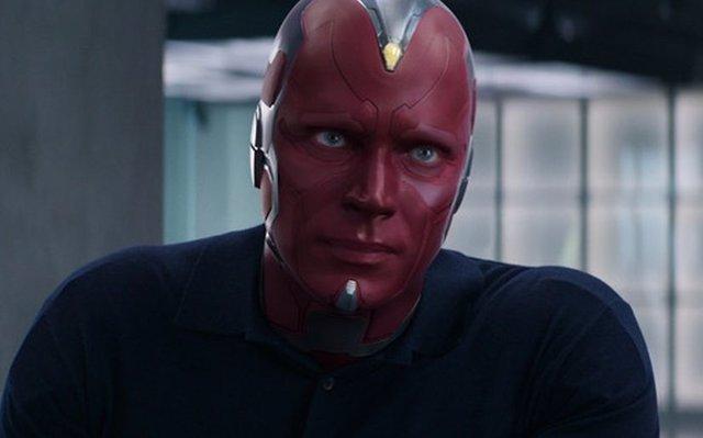 Vision en Capitán América: Civil War