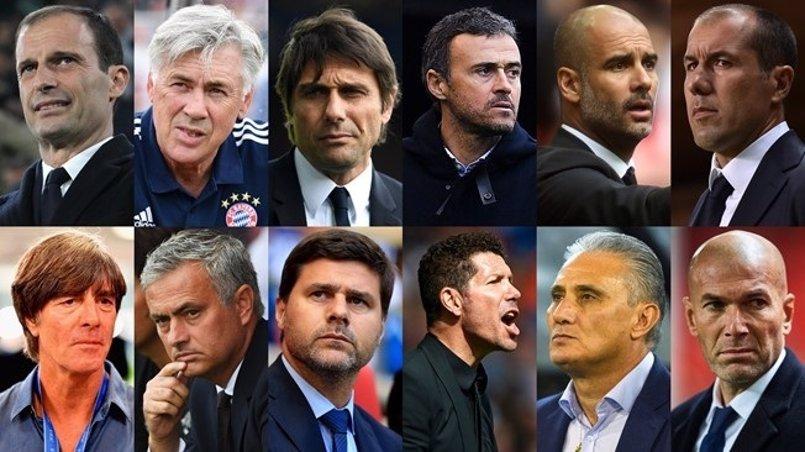 Zidane, Luis Enrique y Simeone, candidatos a Mejor Entrenador del Año de la FIFA