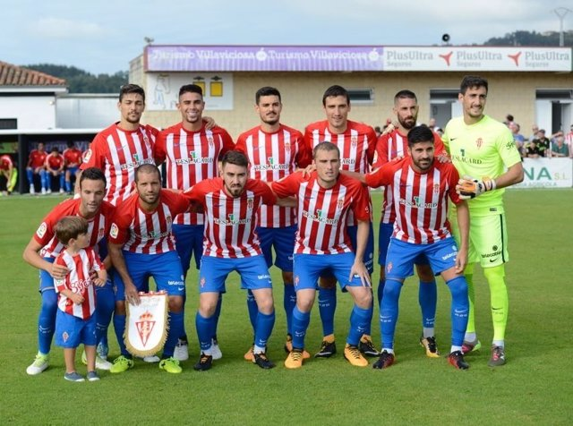 Sporting de Gijón 2017-18, favorito al ascenso a LaLiga Santander