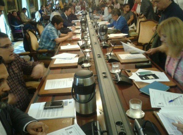 Pleno del Ayuntamiento de Oviedo.