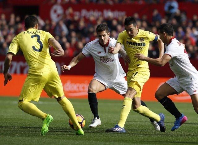 Jovetic Bruno Soriano José Ángel Sevilla Villarreal