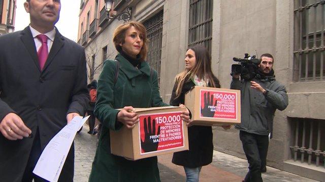Juana Rivas pedirá amparo al Tribunal de Estrasburgo