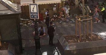 Al menos doce muertos en el atropello de Barcelona