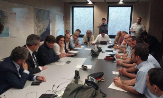 Generalitat, Delegación del Gobierno y Ayuntamiento de Barcelona se reúnen