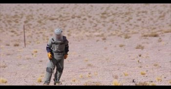Colombia busca destruir la totalidad de minas antipersonales en cinco años