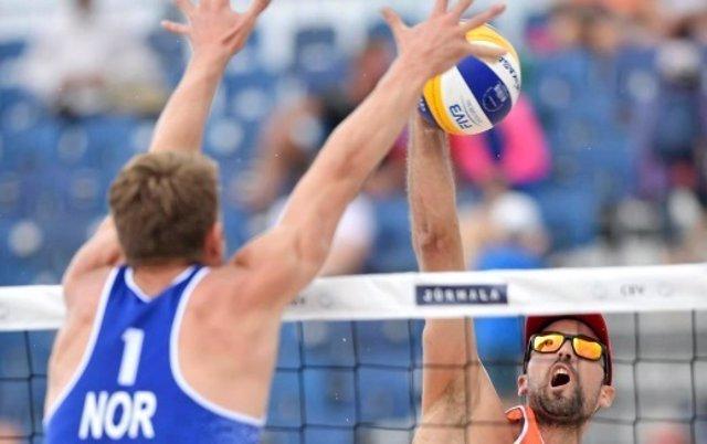 Las parejas españolas avanzan en el Campeonato de Europa de Voley Playa
