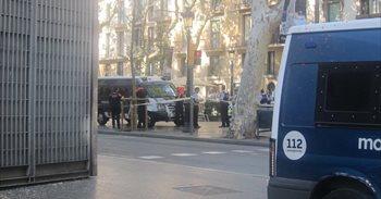 Dos detenidos tras el atentado en Barcelona