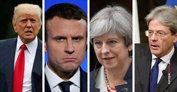 Líderes internacionales expresan su condena y solidaridad por el atentado de Barcelona