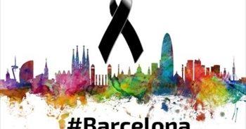 Líderes internacionales expresan su condena y solidaridad por el atentado de Barcelona (España)