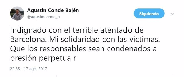 Mensaje del secretario de Estado de Defensa