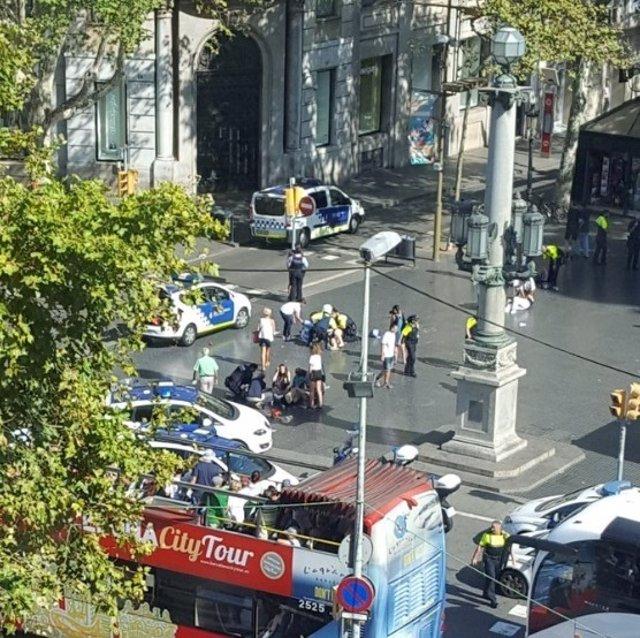 Atropello en Barcelona