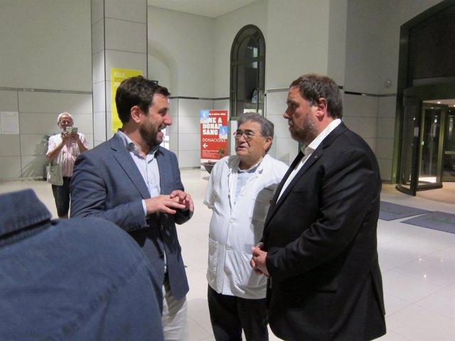 Oriol Junqueras Y Antoni Comín
