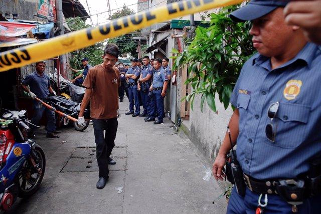 Policía de Filipinas, en una imagen de archivo