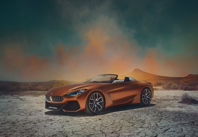 Prototipo BMW Concept Z4