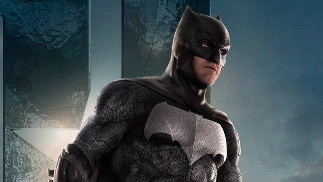 Batman en un cartel de la Liga de la Justicia