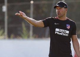 """Simeone: """"Lo tengo clarísimo, Diego Costa no es un jugador nuestro"""""""
