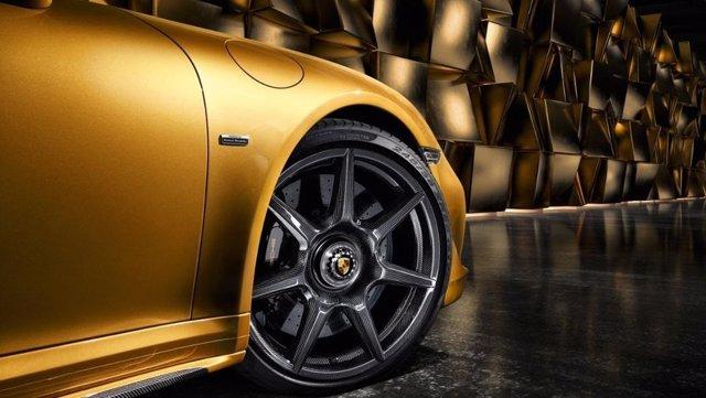 Ruedas de carbono para el Porsche 911 Turbo S Exclusive Series