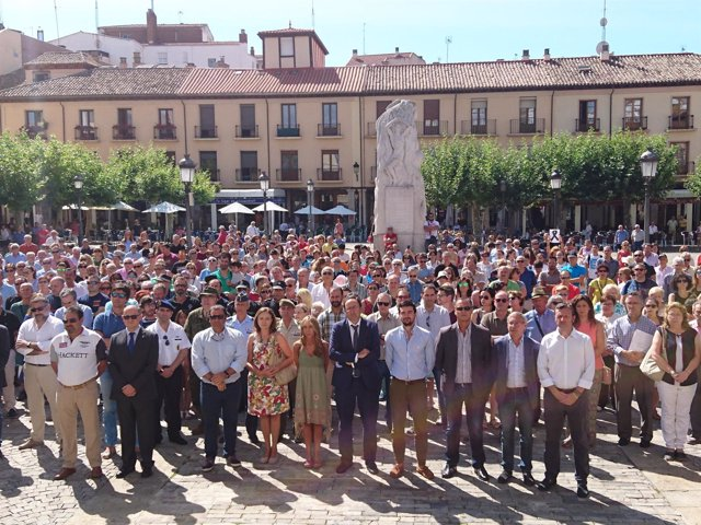 Concentración en Palencia