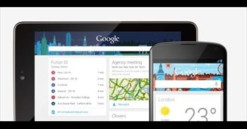 Google rediseña su 'app' para Android con una apariencia semitransparente