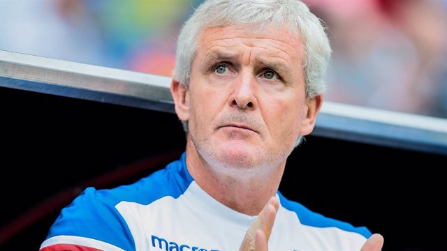 Mark Hughes, entrenador del Stoke City