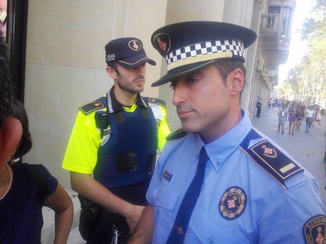 El segundo jefe de la Guardia Urbana de Barcelona, David Martínez.