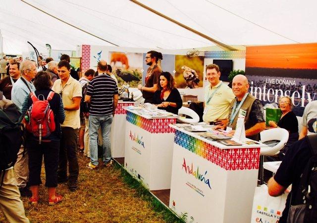 Presencia de Andalucía en la British Birdwatching Fair de Reino Unido