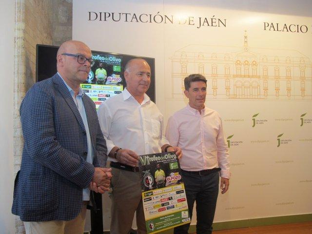 Presentación del VI Trofeo del Olivo de Fútbol Sala.