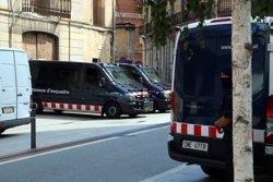 Els Mossos d'Esquadra i la Guàrdia Civil escorcollen un altre pis a Ripoll (ACN)
