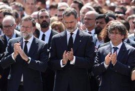 Los Reyes visitan este sábado a los heridos del atentando en Barcelona
