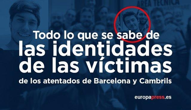 Identidad de las víctimas
