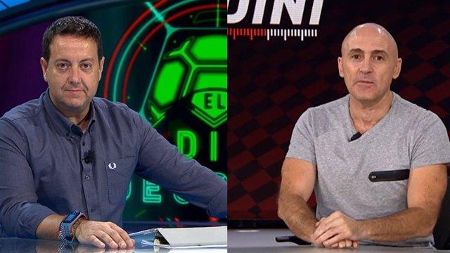 Antoni Daimiel y Julio Maldonado en El Día Después y Fiebre Maldini