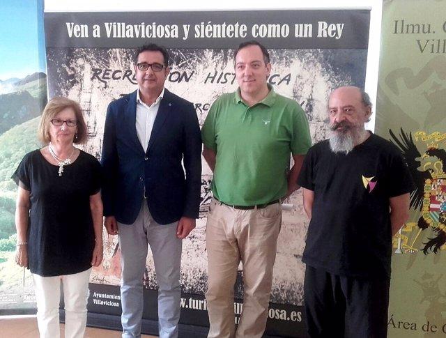Nota Prensa Y Fotos Presentación Quinto Centenario Desembarco Carlos V