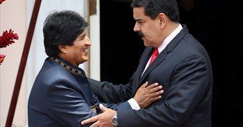 """Evo Morales considera un """"rotundo fracaso"""" el plan de Estados Unidos de intervenir militarmente en Venezuela"""