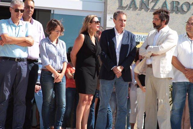 José Luis Rodríguez Zapatero y Pedro San Ginés