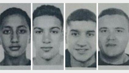 La policía busca a los marroquíes Said Aallaa, Mohamed Hychami, Younes Aouyaaqoub, además de Moussa Oukabir