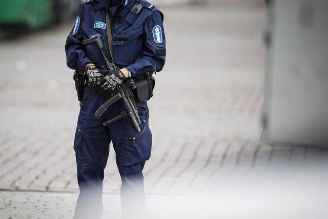 Policía finlandia
