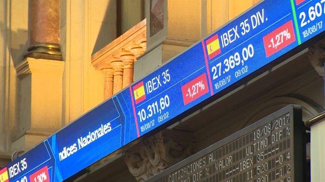 El Ibex cae un 1,3% tras el atentado en Barcelona