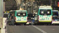 Gairebé un terç dels ferits dels atemptats de Catalunya que segueixen hospitalitzats són francesos (EUROPAPRESS)