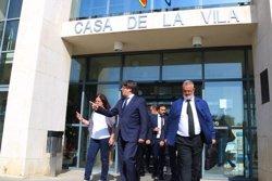 Puigdemont visita la zona de l'atemptat de Cambrils (ACN)