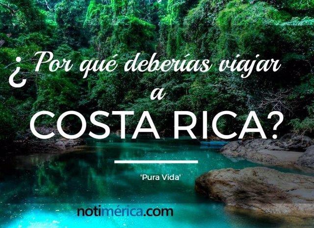 ¿Por Qué Deberías Viajar A Costa Rica?