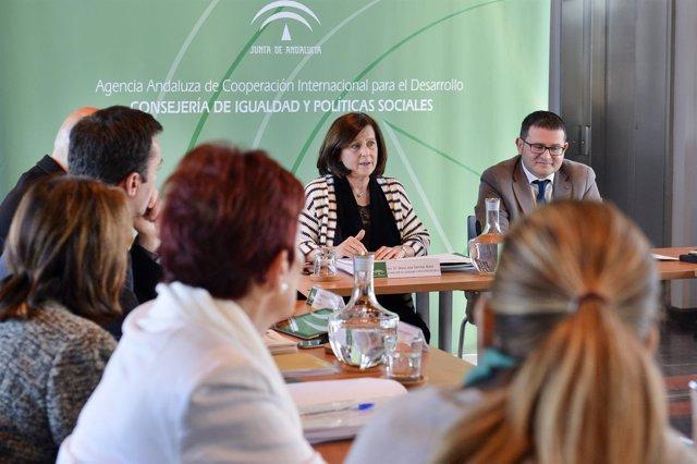 La consejera María José Sánchez Rubio preside el Consejo Rector de la Aacid