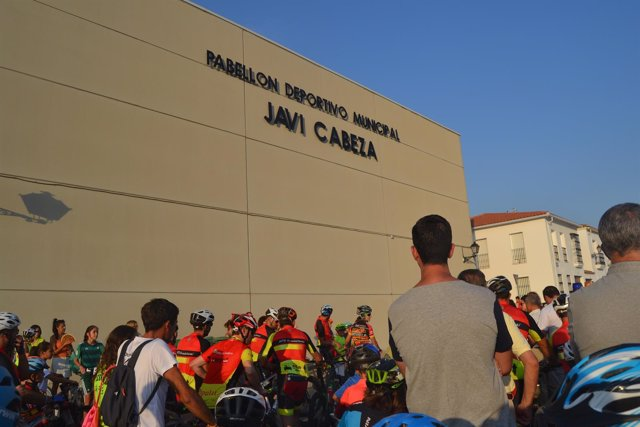 Polideportivo Javi Cabeza en Guadalcanal (Sevilla)