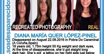 Continúa la búsqueda de Diana Quer en el primer aniversario de su desaparición