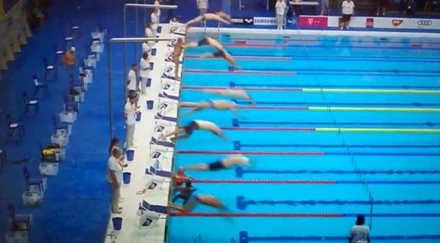 Fernando Álvarez Natación Cádiz minuto silencio Mundial natación