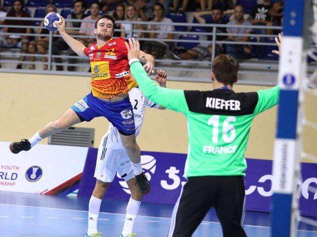 Selección española juvenil de balonmano