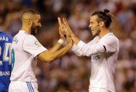 El Madrid domina y golea en su estreno en Riazor