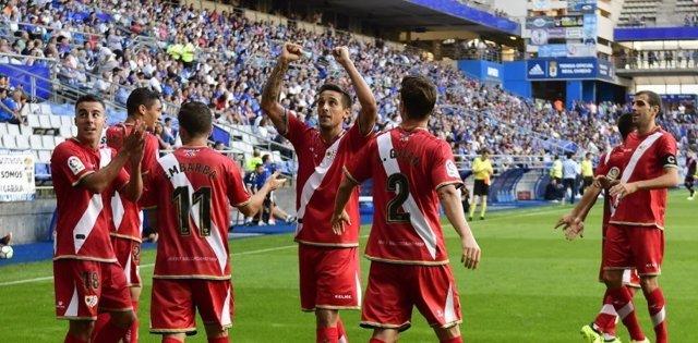 El Rayo Vallecano gana en Oviedo