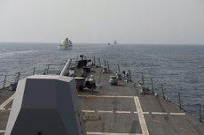 Cinc mariners ferits i deu més desapareguts després de la col·lisió d'un destructor nord-americà (MARINA DE EEUU / MC3 JEFF ATHERTON)