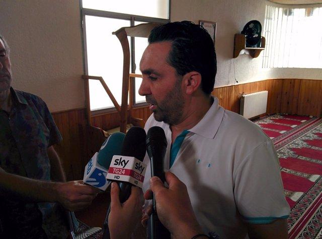 El presidente de la Comunidad Islámica Annour de Ripoll, Ali Assid