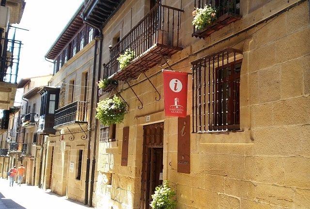 Oficina de turismo de Lagiardia (Rioja alavesa)